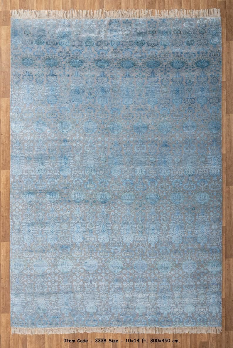 10x14 Rug Indian Handknotted Rug Persian Rug Large Size Wool Etsy In 2021 Hand Knotted Rugs Rugs Large Rugs Hand knotted wool rugs from india