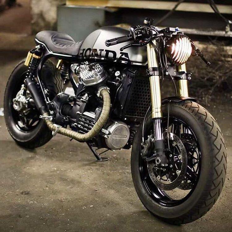"""Estremamente Motorcycle Dreams on Instagram: """"Honda CX500 Build By SD63"""