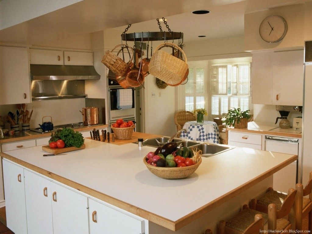 Küche Interieur - Hintergründe für den Computer: http://wallpapic.de ...