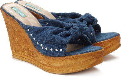 02a33b4b6a Catwalk Women Blue Wedges available at flipkart for Rs.599 | Stuff ...