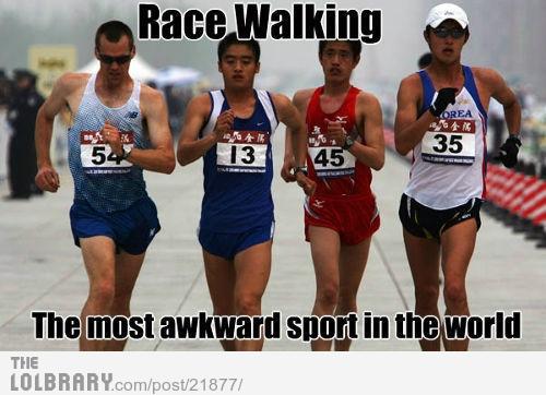 Race Walking | LOLBRARY.COM
