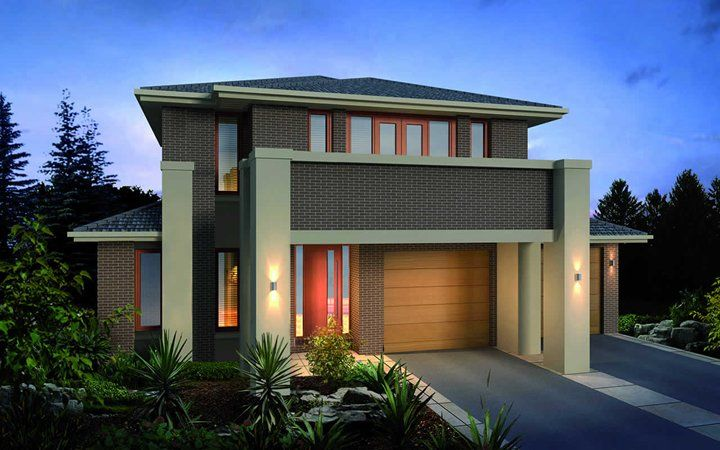 Metricon Home Designs The Sycamore Oakpark Facade Visit