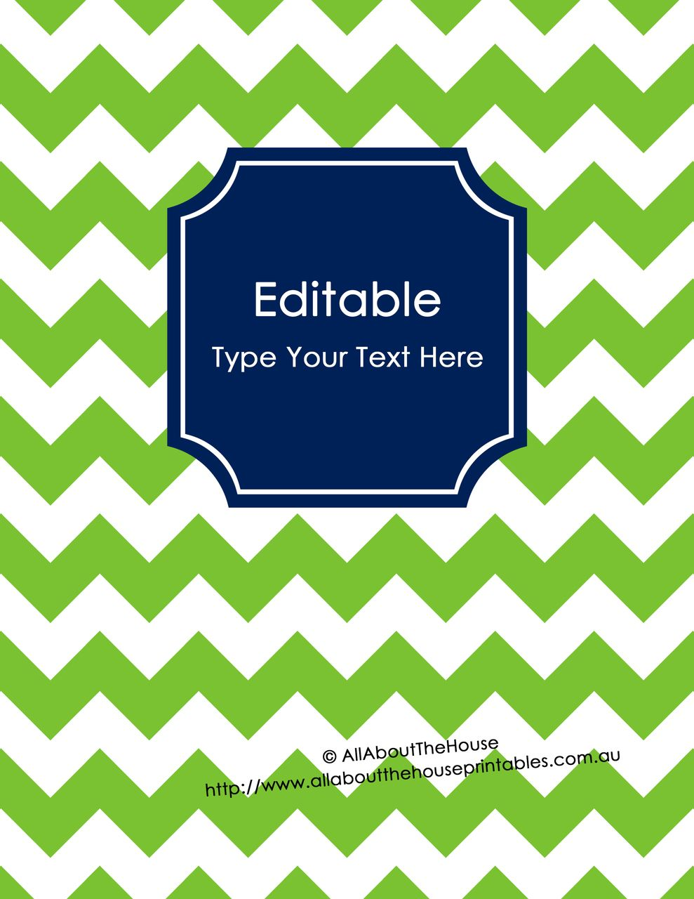 editable binder cover - letter size  8 5 x 11 u0026quot