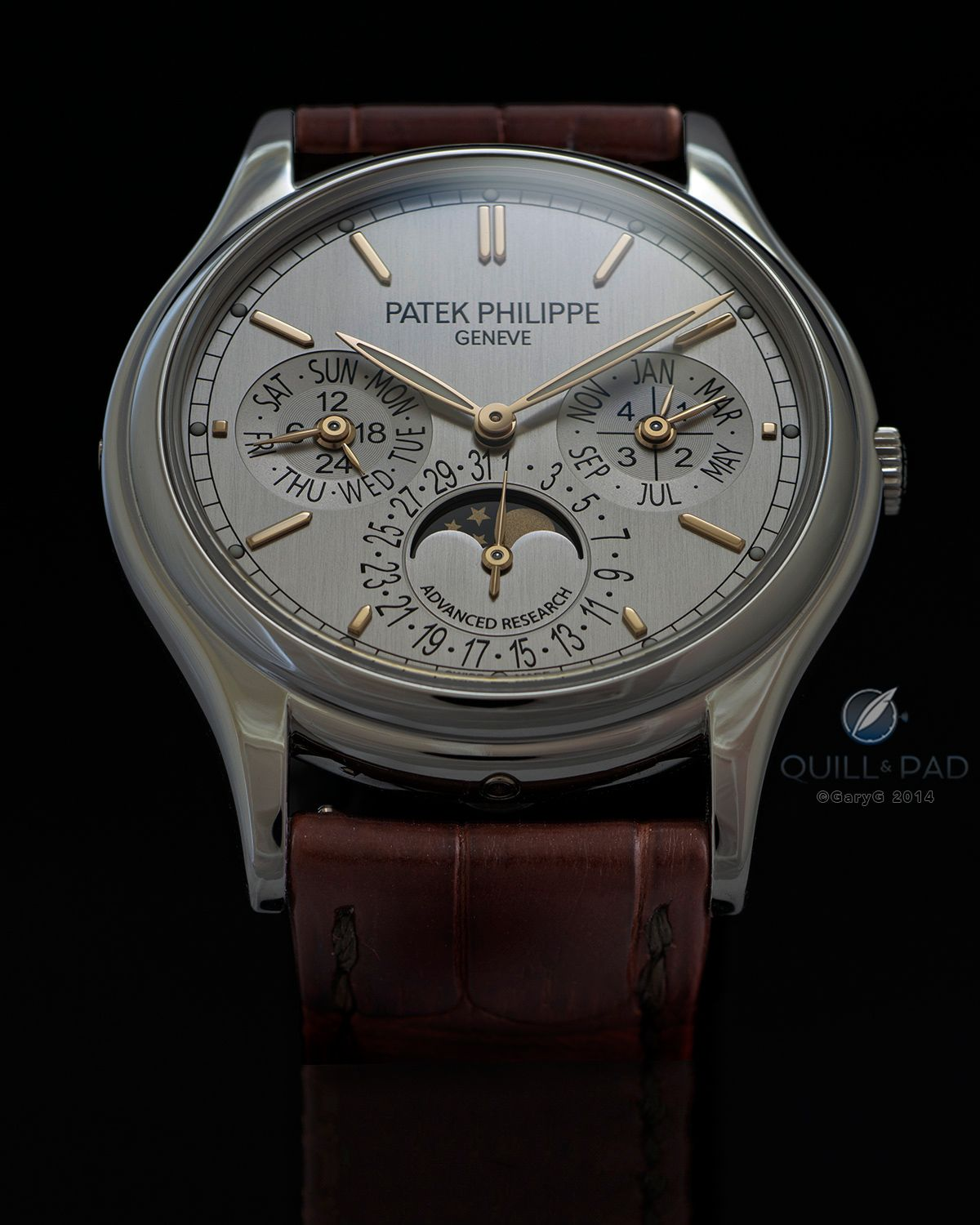 f480a4c25e4 Photography rule number 1 as applied to Patek Philippe s 5550P  start with  the light Click