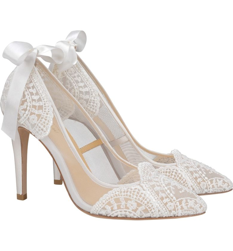 Bella Belle Giselle Pump Women Nordstrom Wedding Shoes Comfortable Wedding Shoes Lace Ivory Wedding Shoes