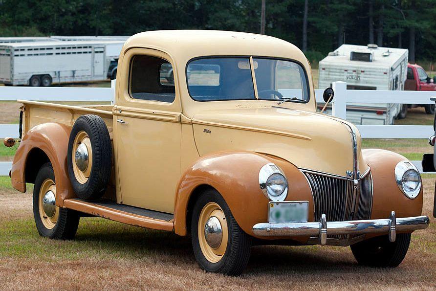 antique pickup trucks   Classic Pickup Truck Picture   Zero to 60 ...