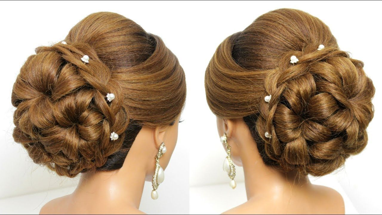Bridal Updo Tutorial Wedding Prom Hairstyles For Long Hair Youtube Prom Hairstyles For Long Hair Long Hair Styles Prom Hair