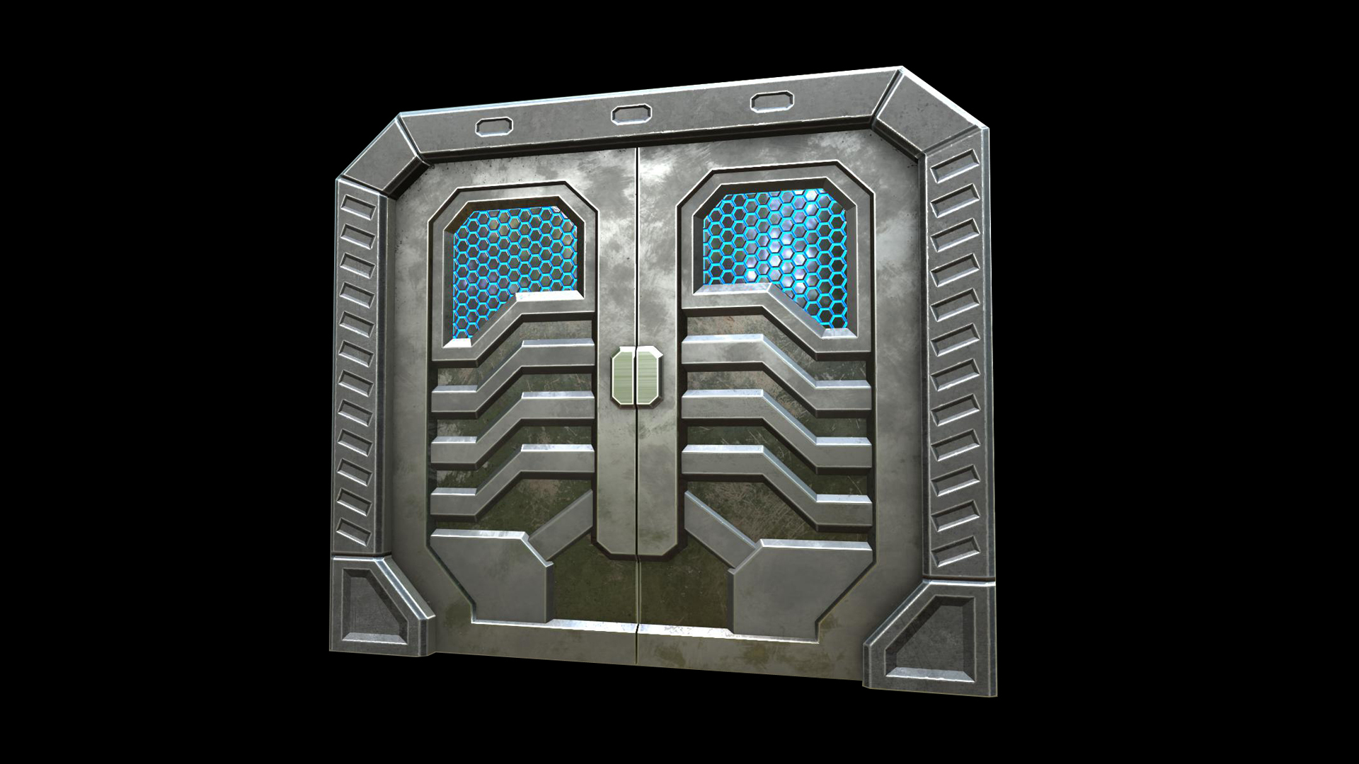 Cozy Futuristic Space Door 5 Steps With Pictures