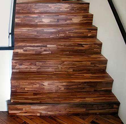 Wonderful Pictures Of Flooring On Stairs   Olde Boards® Amtico® Cork Teak
