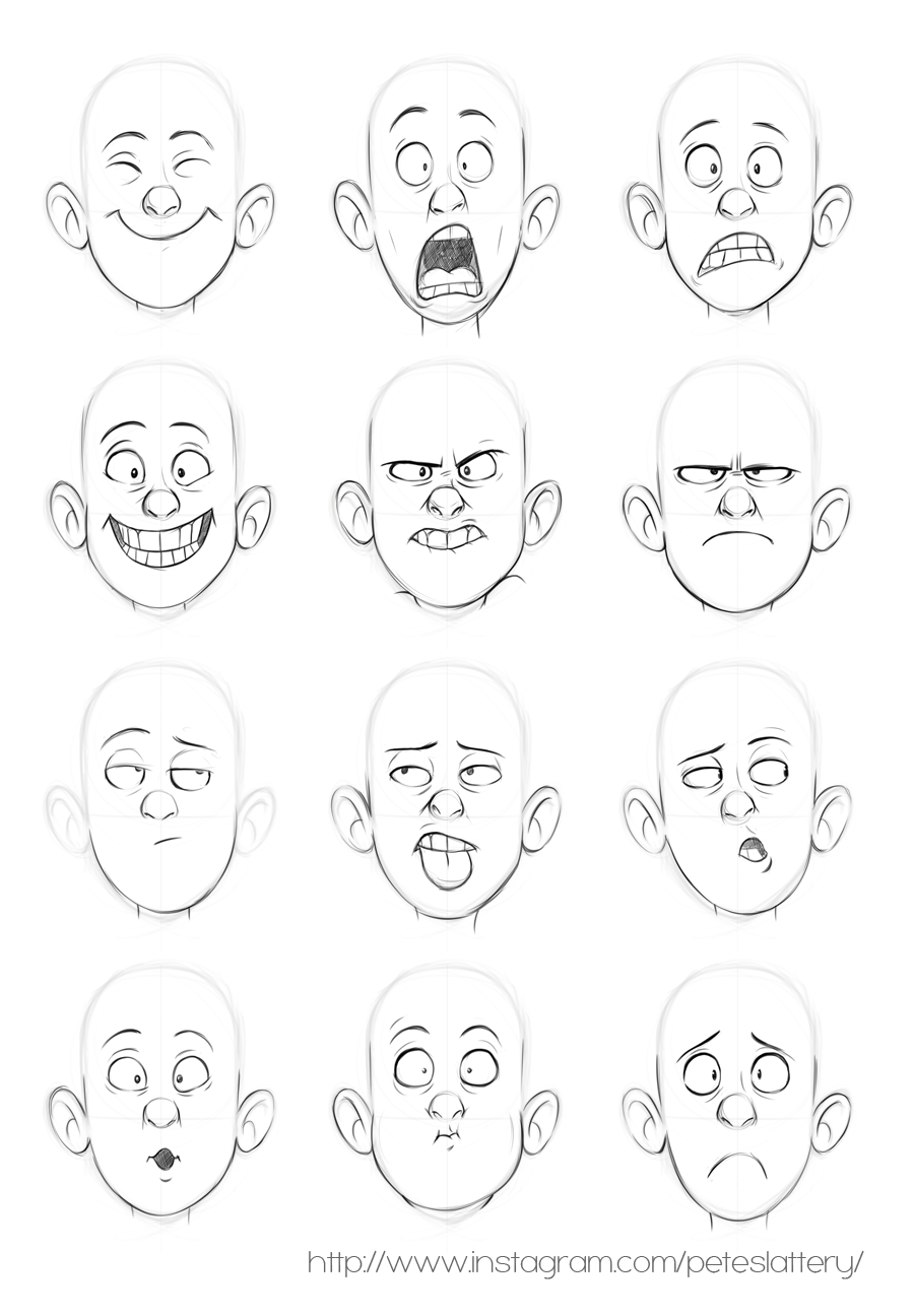 Faces By Peteslattery On Deviantart Drawing Cartoon Faces Cartoon Character Design Drawing People Faces