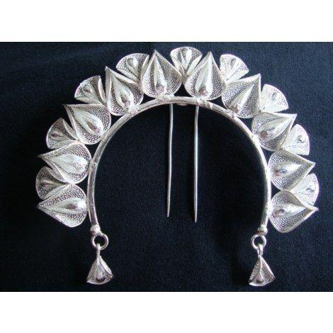 78196fc88 Silver Filigree Odissi Dance Ornaments-Jewellery-Radha Jewellers ...