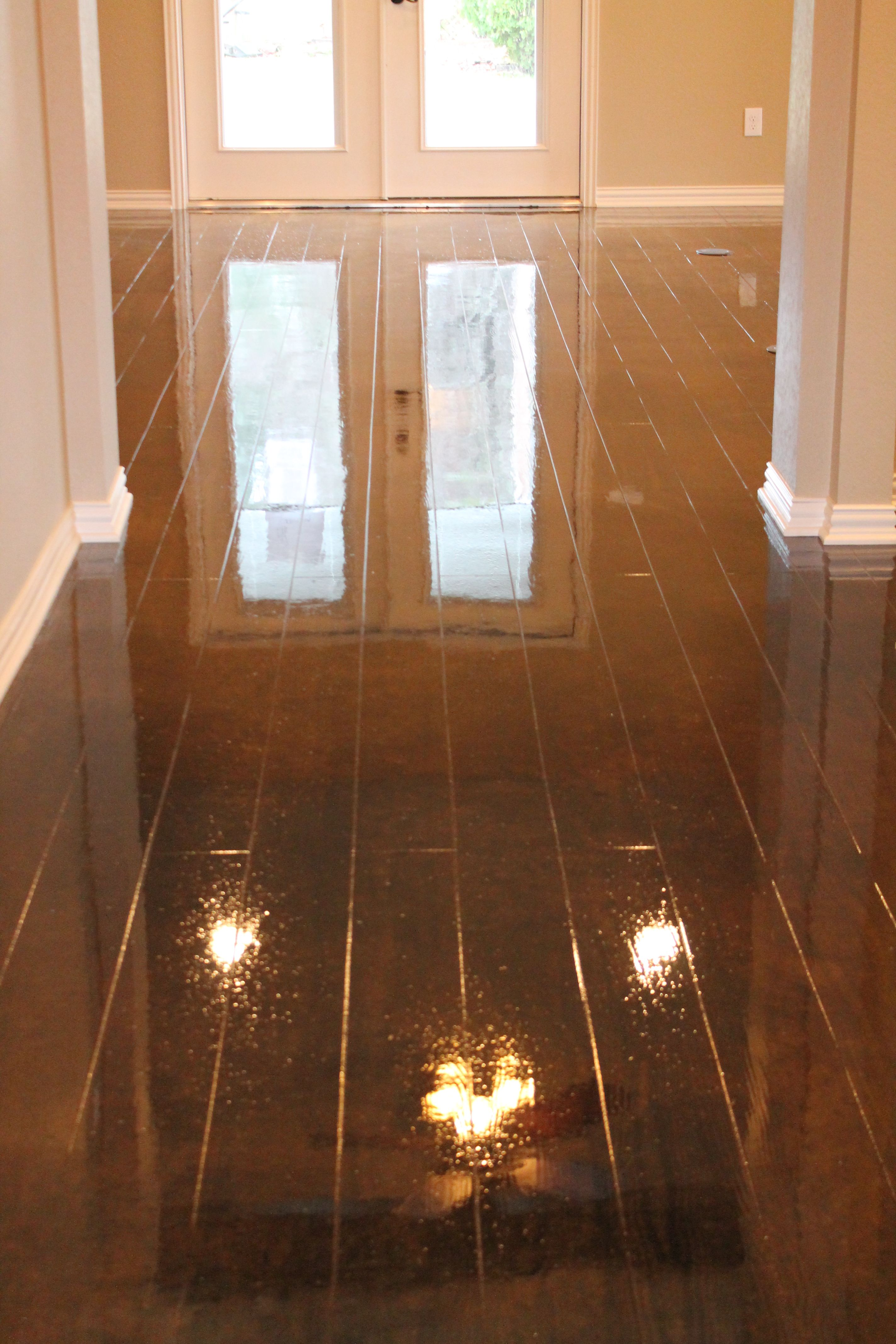 Concrete Floors Look Like Wood To See More Photos Visit
