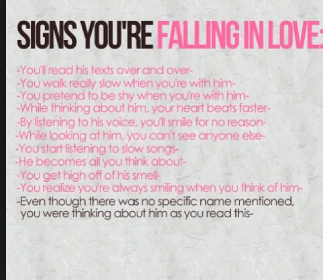 i think i m falling falling in love with you