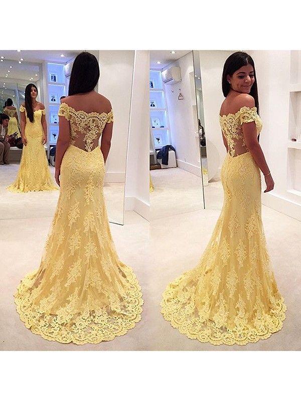 Kleid Lang Carmen Ausschnitt Modische Damenkleider