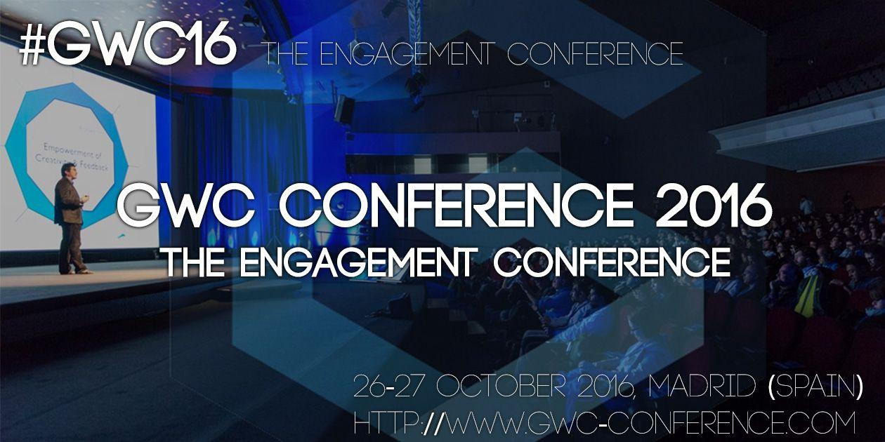 GWC 2016 es la mayor conferencia centrada en el engagement digital, donde arte, tecnología y juegos se fusionan para redefinir la forma de hacer negocios