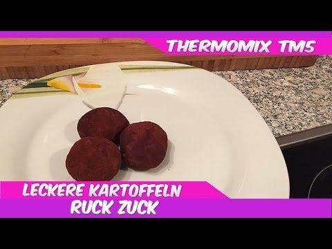 Thermomix® TM5®♥Süsse Kartoffeln...schnell und lecker - YouTube