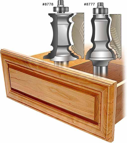 MLCS Mitered Door Frame Router Bits and Kits | cabinets ...