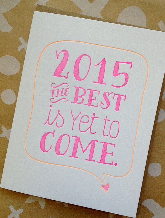 new years card letterpress holiday cards the best is by jdeluce