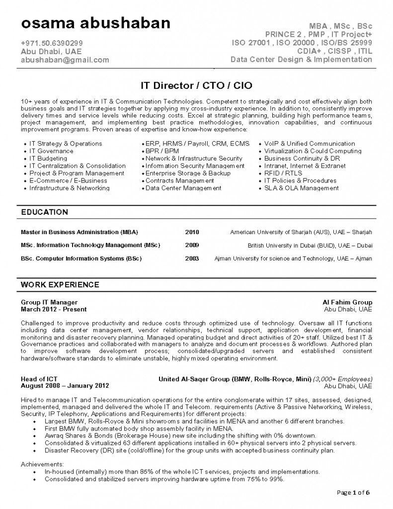 cio resume invitation sample pinterest