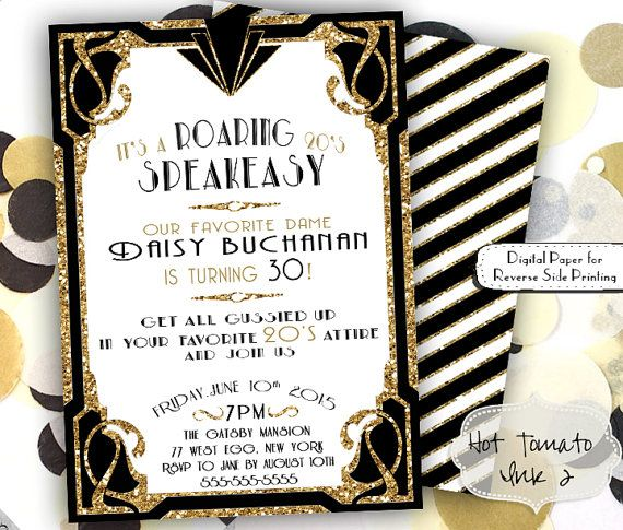 roaring twenties invitation template.html