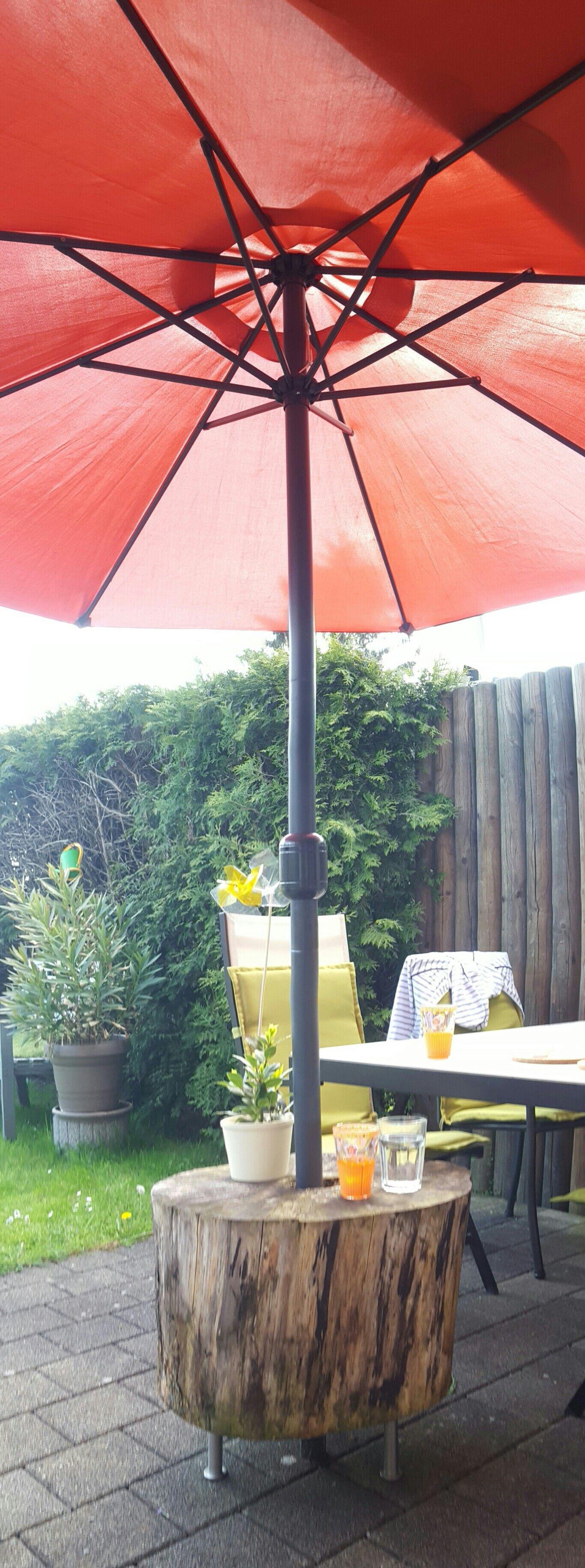 Sonnenschirmstander Marke Eigenbau Sonnenschirm Garten Sonnenschirmstander Garten Deko