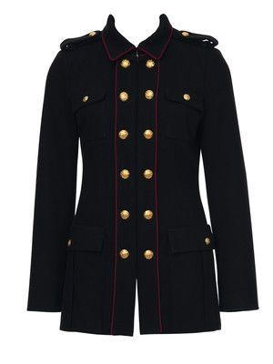 Jacke im military style damen