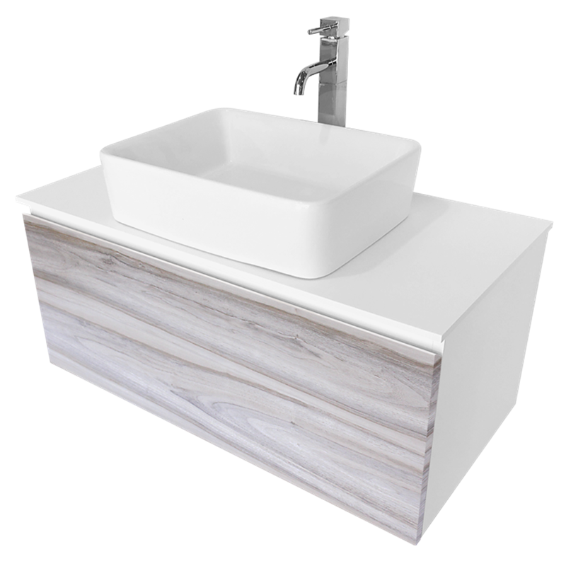 find cibo design cafe oak glee vanity with white basin at bunnings warehouse visit your local store for the widest range of bathroom plumbing products - Bathroom Cabinets Bunnings