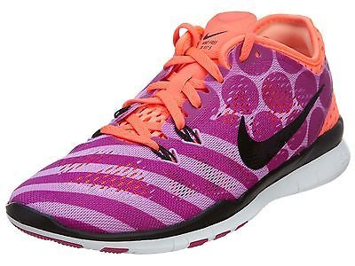 591719f2b4af0 Nike Free 5.0 Tr Fit 5 Print Womens 704695-500 Fuchsia Training ...