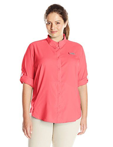 Columbia Size Long Sportswear Ii plus Tamiami Sleeve Shirt Women's rcqrATPwva
