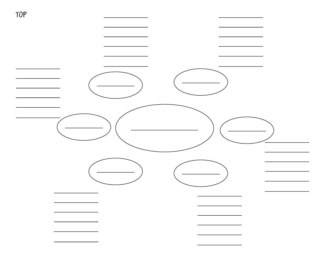 Blank Mind Map Template Picsant Mind Map Pinte