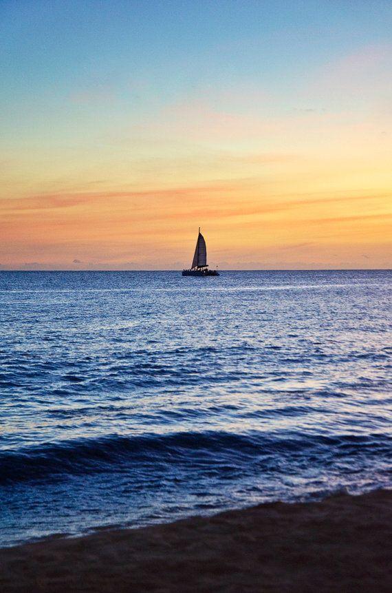 Caribische Catamaran van MatthewNoonanPhoto op Etsy