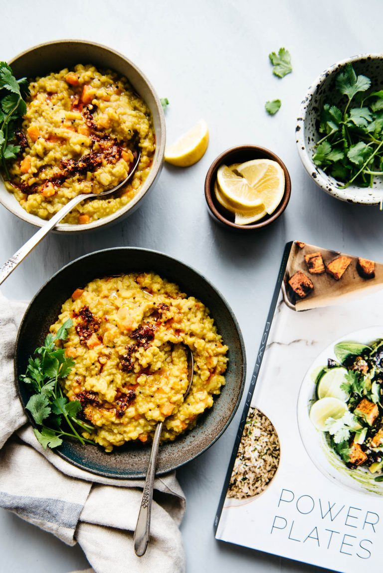 Easy Kitchari Spiced Dal With Rice