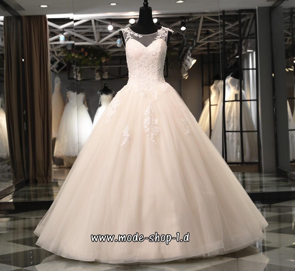 A Linie Standesamt Brautkleid mit Träger Bodenlang (mit Bildern