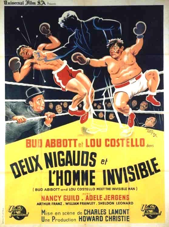 Abbott And Costello Meet The Invisible Man 1951 Abbott