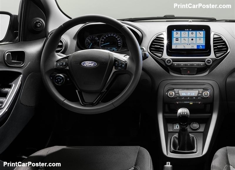 Ford Ka Plus 2019 Poster 2019 Ford Ford Suv Cars