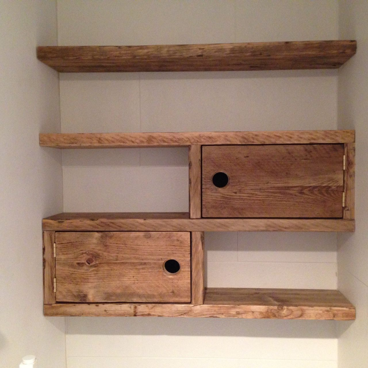 Floating Scaffold Board Storage Shelves Scaffold Furniture Alcove Ideas Living Room Shelves