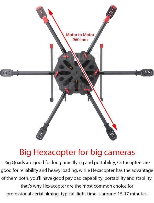 Tarot X6 Hexacopter Build Kit   dron in 2019   Fpv drone