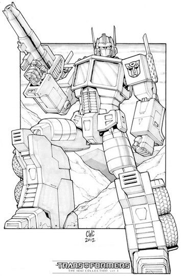 imagenes de optimus prime para colorear | transformers | Pinterest ...