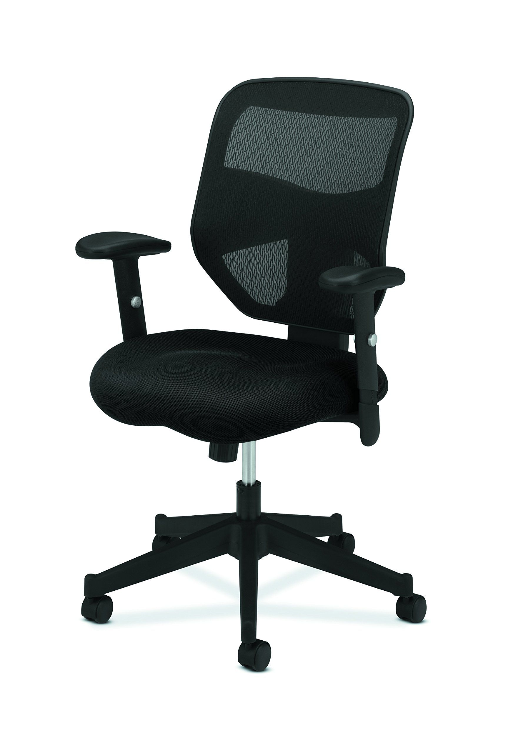 Hon Prominent High Back Work Chair Mesh Computer Chair For Office Desk Black Hvl531 Find Out More About The G Mesh Computer Chair Work Chair Computer Chair
