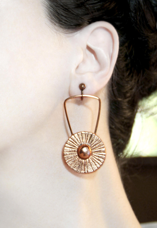 Long Earrings Stylish Clip On Dangles Non Pierced Earring Statement Jewelry
