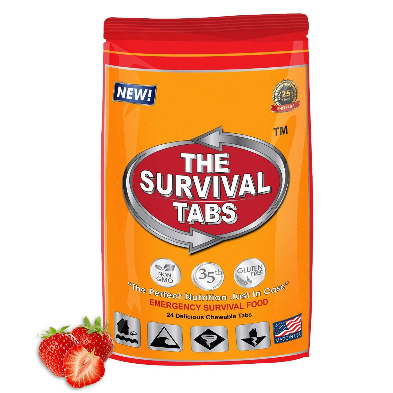 Survival Tabs 100 USDA Organic 2day