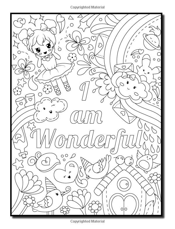Amazon.com: Proud to be a Girl: An Adult Coloring Book for ...