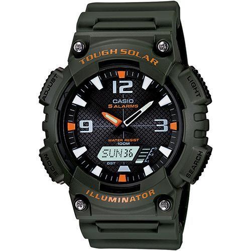 [SUBMOB]Relógio Masculino Casio Analógico/digital Social Aq-s810w-3avdf - R$190,00