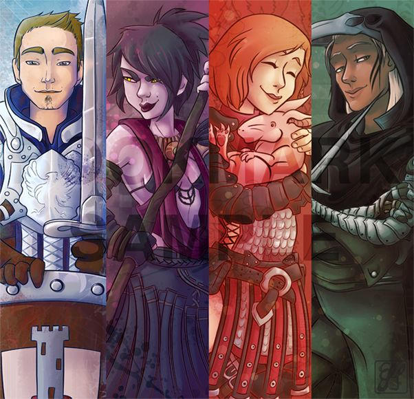 Dragon Age Origins Bookmarks I By Emideclam Deviantart Com On Deviantart Dragon Age Origins Dragon Age Series Dragon Age Games