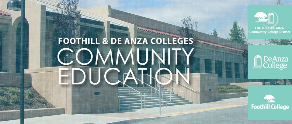 Community Education Is Part Of The Foothill
