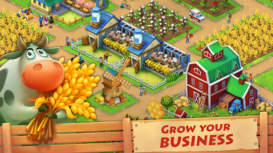 Township + МOD (much money) for Android Download Township