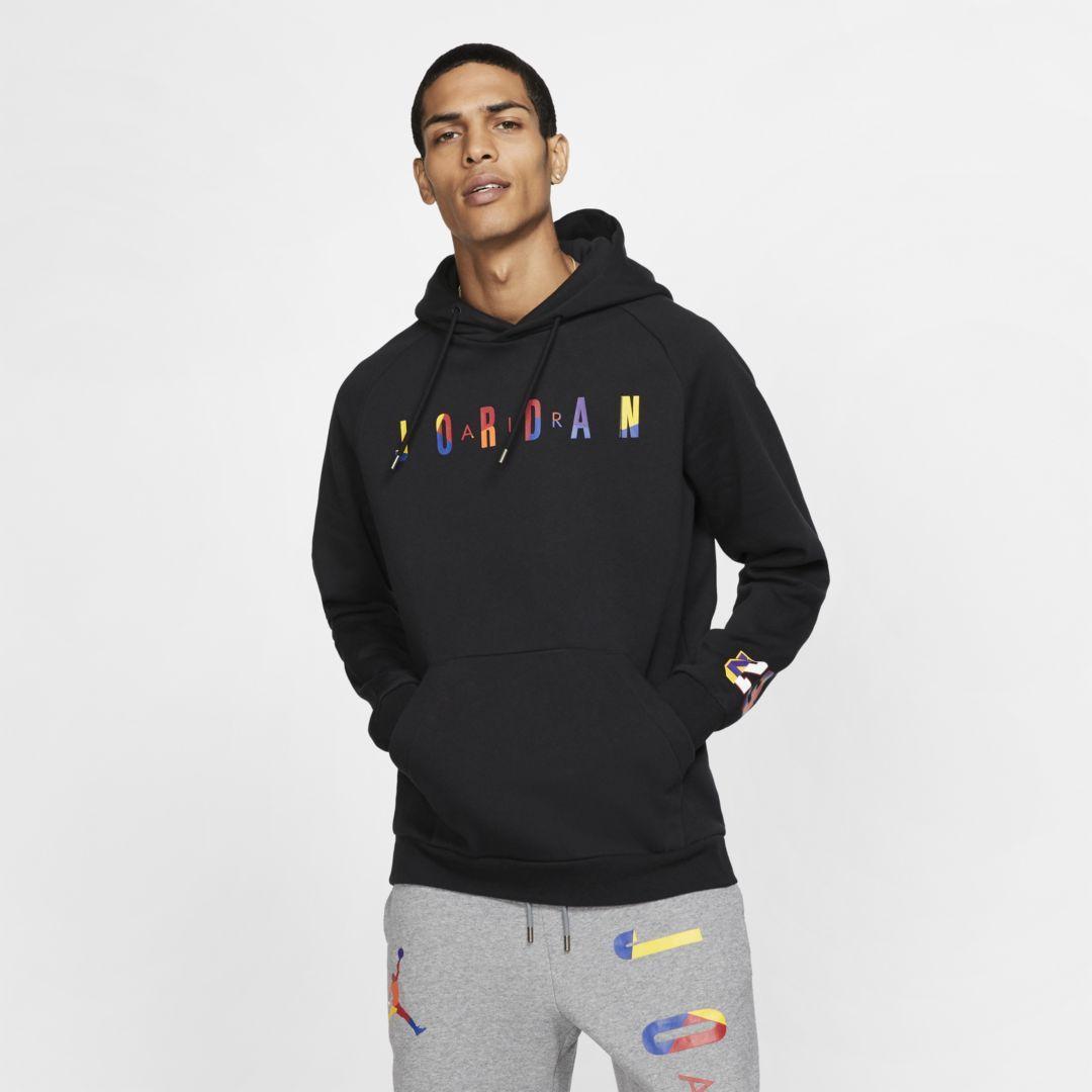 nike hoodie avec bande a logo