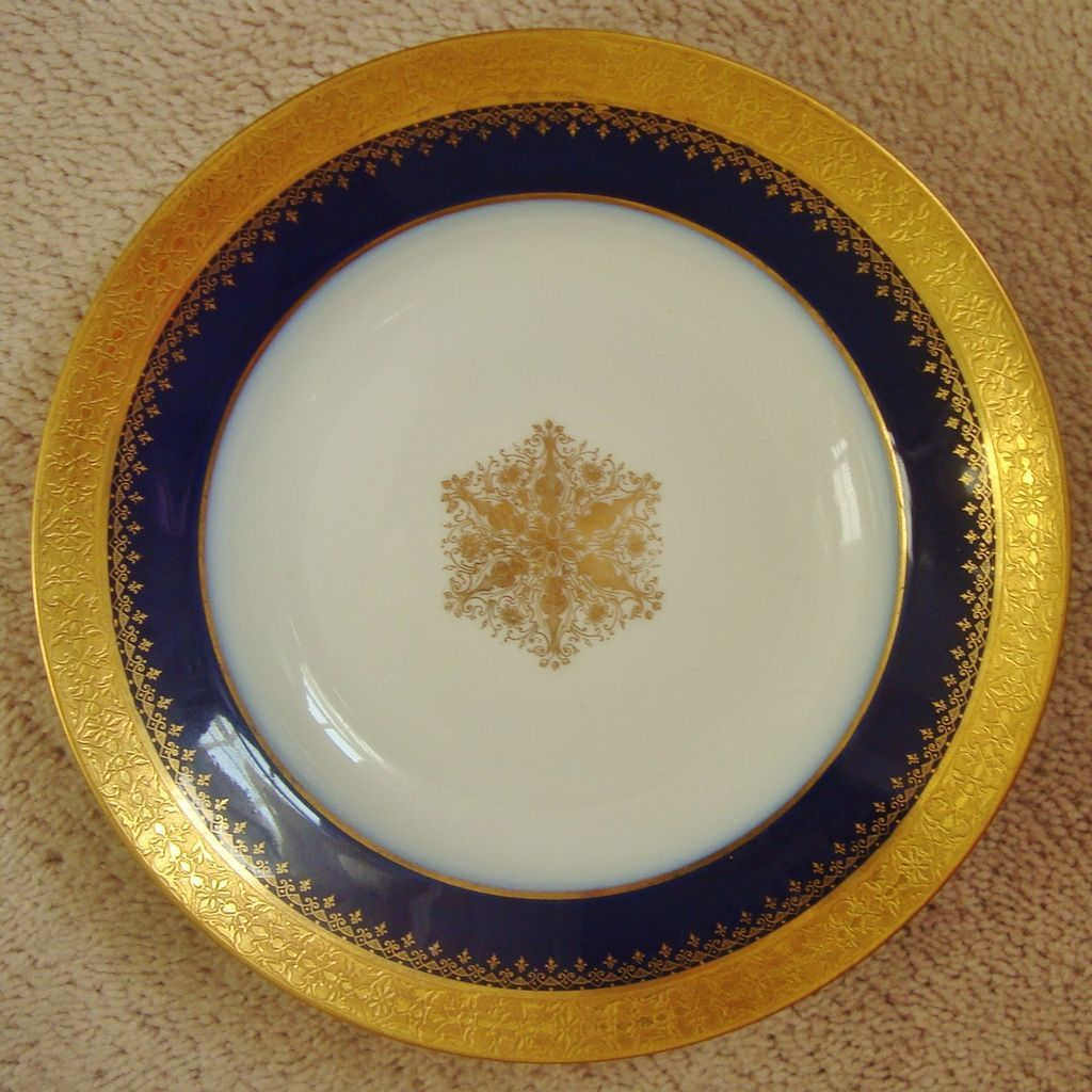 Limoges China Patterns Gold Trim Custom Design