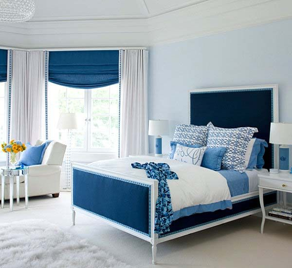 Blue Bedroom Ideas For Women Bedroom Ideas For Women The Blending Of Minimalist And Bold Colo Interior Design Bedroom White Bedroom Design Blue Bedroom Design