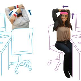 The Ultimate Deskercise Routine Stretches For The